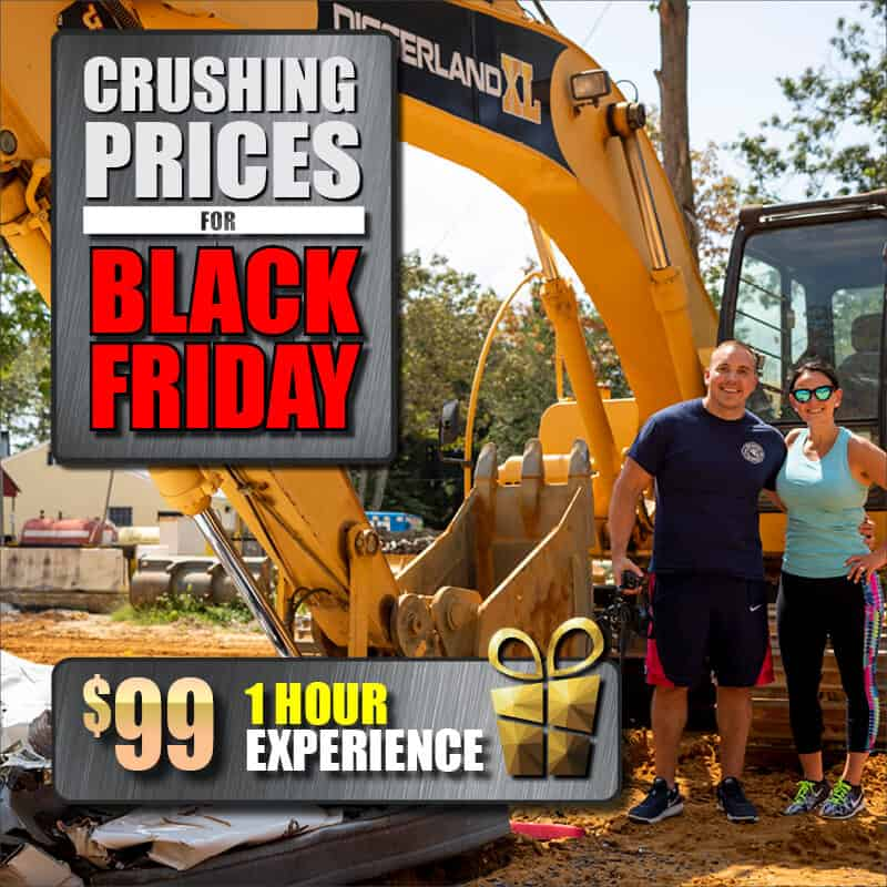 Diggerland XL experience 1 hour sale package