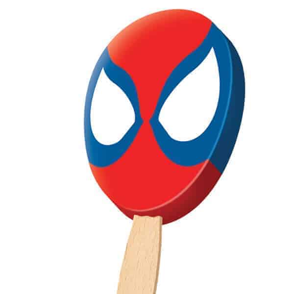 Spider Man theme ice cream treat
