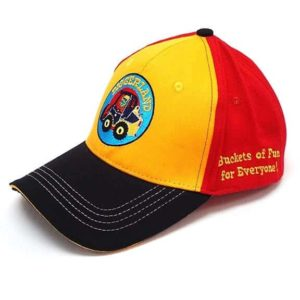 Diggerland buckets of fun ball cap side