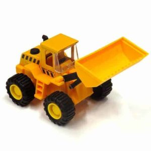Mighty wheels digger front top