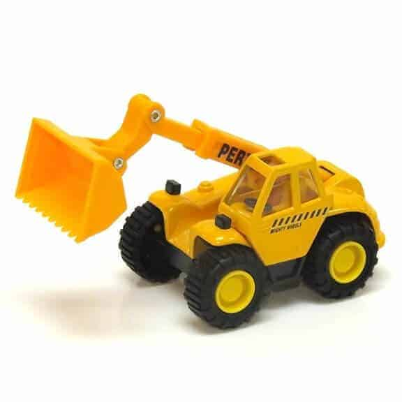 mighty wheels telescopic handler front bucket up