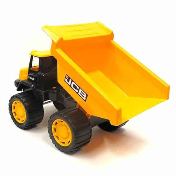 14 inch JCB dump truck back with bucket up