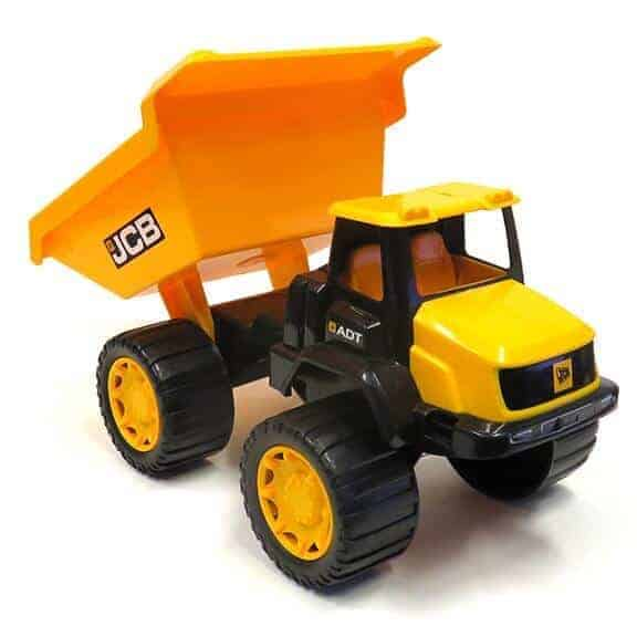 14 inch JCB dump truck front with bucket up