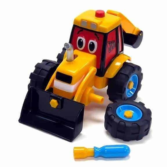 JCB Build and Go Digger front with accessories