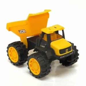 JCB mini dump truck front bucket up