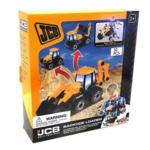 JCB multi construct backhoe loader packaging